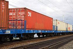 Железнодорожные грузоперевозки по России